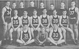 1936-37 Basketball Team