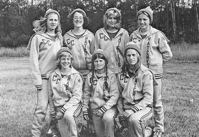 1976 Girls' Cross Country Team